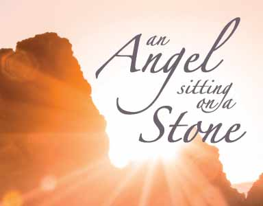 An angel sitting on a stone – Rev. Scott Simpson – 4/23/17