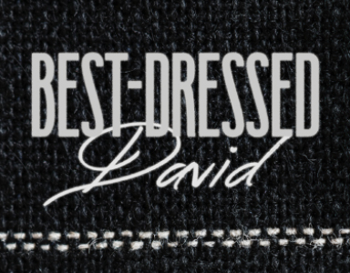 """Best-Dressed David"" Rev. Scott Simpson 7/22/18"