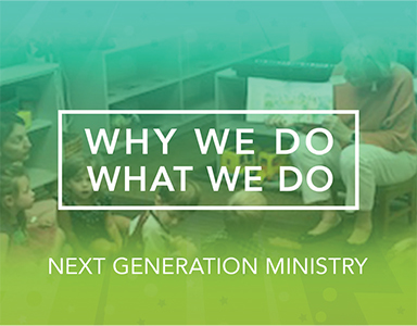 """Why We Do What We Do: Next Generation Ministry"" – Rev. A. Mitchell Moore 10/13/19"